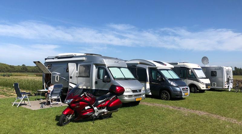 Extra plekken bij camperplaats De Guldenroede - NKC